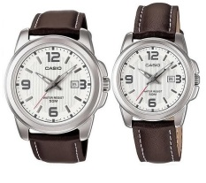 Compare Price Casio Quartz Couple Watches Mtp 1314L 7A And Ltp 1314L 7A Casio On Singapore