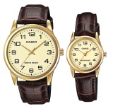 Buy Casio Quartz Couple Watches Mtp V001Gl 9B And Ltp V001Gl 9B On Singapore