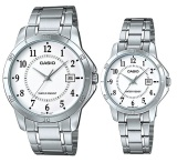 Best Deal Casio Quartz Couple Watches Mtp V004D 7B And Ltp V004D 7B