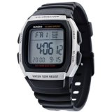 Casio Unisex Black Resin Strap Watch W 96H 1A Coupon