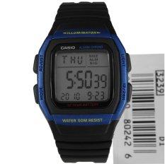 Purchase Casio Unisex Black Resin Strap Watch W 96H 2A Online