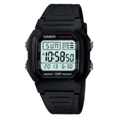 Casio W-800h-1a Snooze Alarm Chronograph Digital Watch W800h 800h By Timeyourtime.