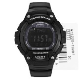 Casio W S220 1B Men Digital Alarm Stopwatch Water Resistant Watch W S220 1Bdf Multicolor Sale