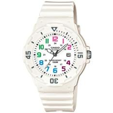 Compare Price Casio Women S White Resin Strap Watch Lrw 200H 7B On Singapore