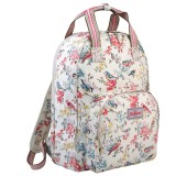 Where To Buy Cath Kidston Multi Pocket Backpack Matt Oilcloth Rucksack Blossom Birds 16Ss Colour Cream Fitting 13 Laptop 557733