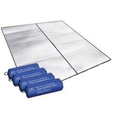 CatWalk Dampproof Mat Picnic Hiking Outdoor Pad Double Side Aluminum Film 200X250 cm (Silver) (Intl)