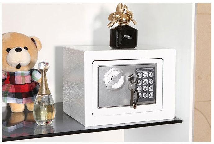 *Premium* Electronic Password Safe Security Safe Deposit Box Digital Lock Safe / Theft-Proof