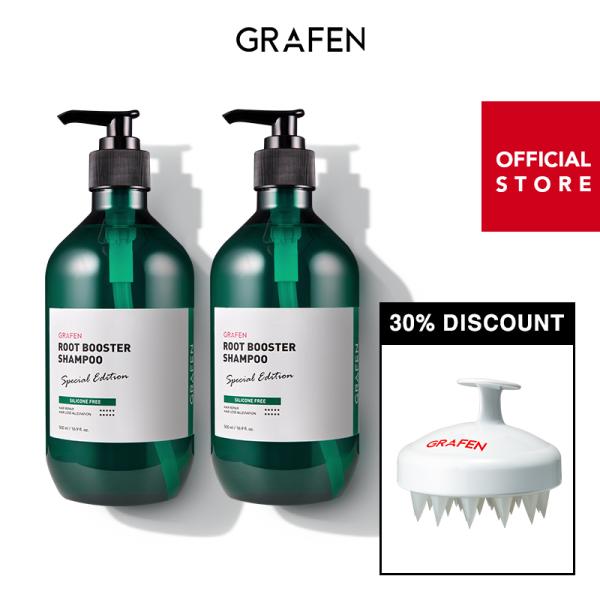Buy [GRAFEN] [Bundle of 2] Root Booster Shampoo 500ml+[30% Discount] Edge Finger White Singapore