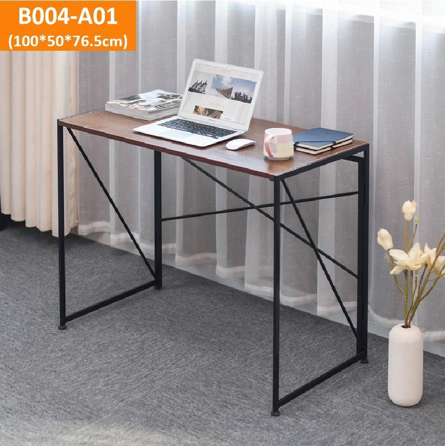 Foldable study table/computer desk/foldable bookshelf/laptop table