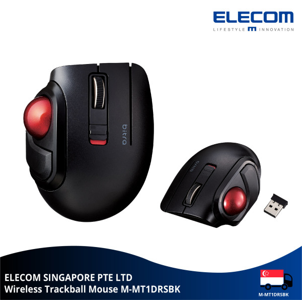 Elecom 2.4GHz Wireless Trackball Mouse / Gaming Mouse 5 button (Thumb-operated)