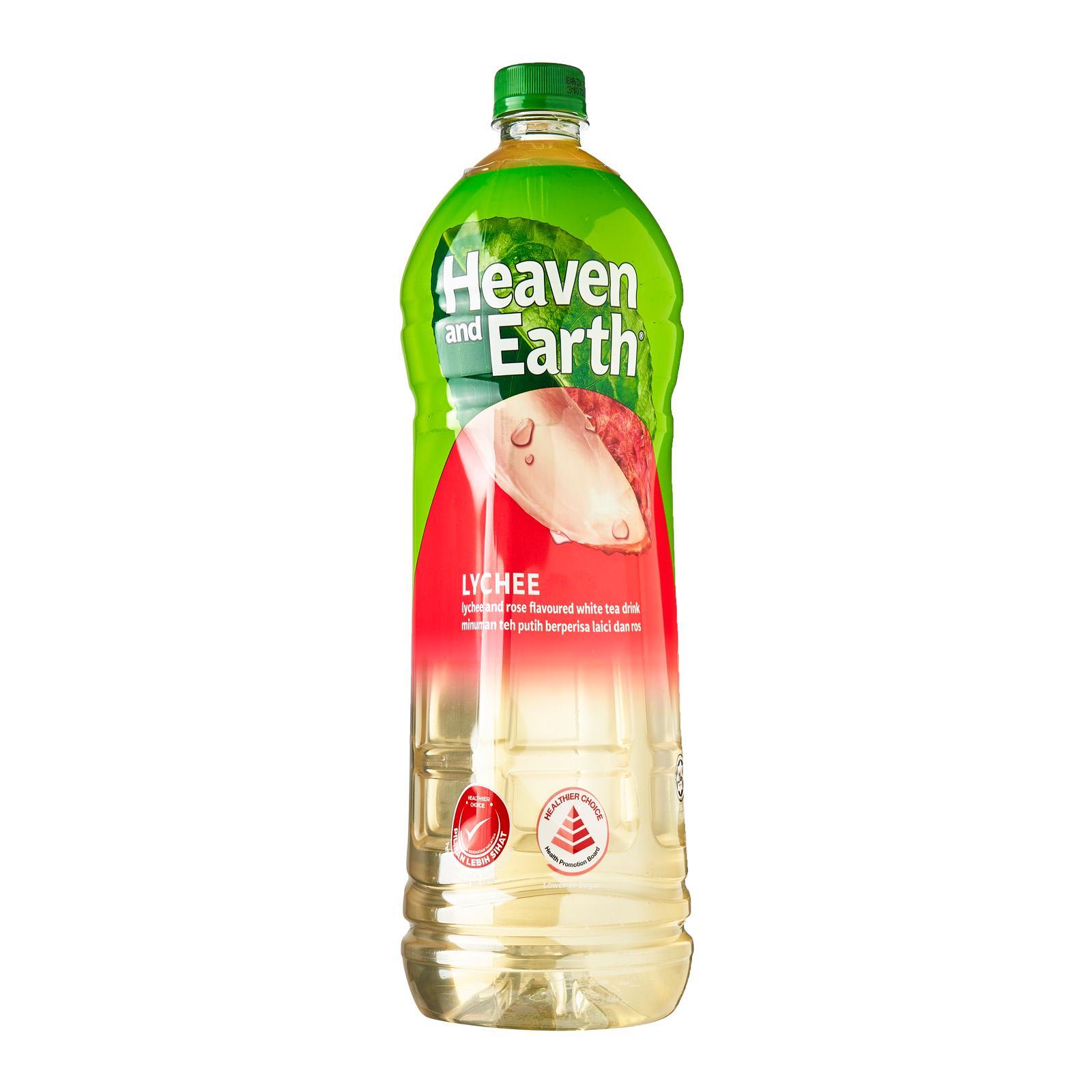 Heaven & Earth Lychee Rose Tea - 1.5L