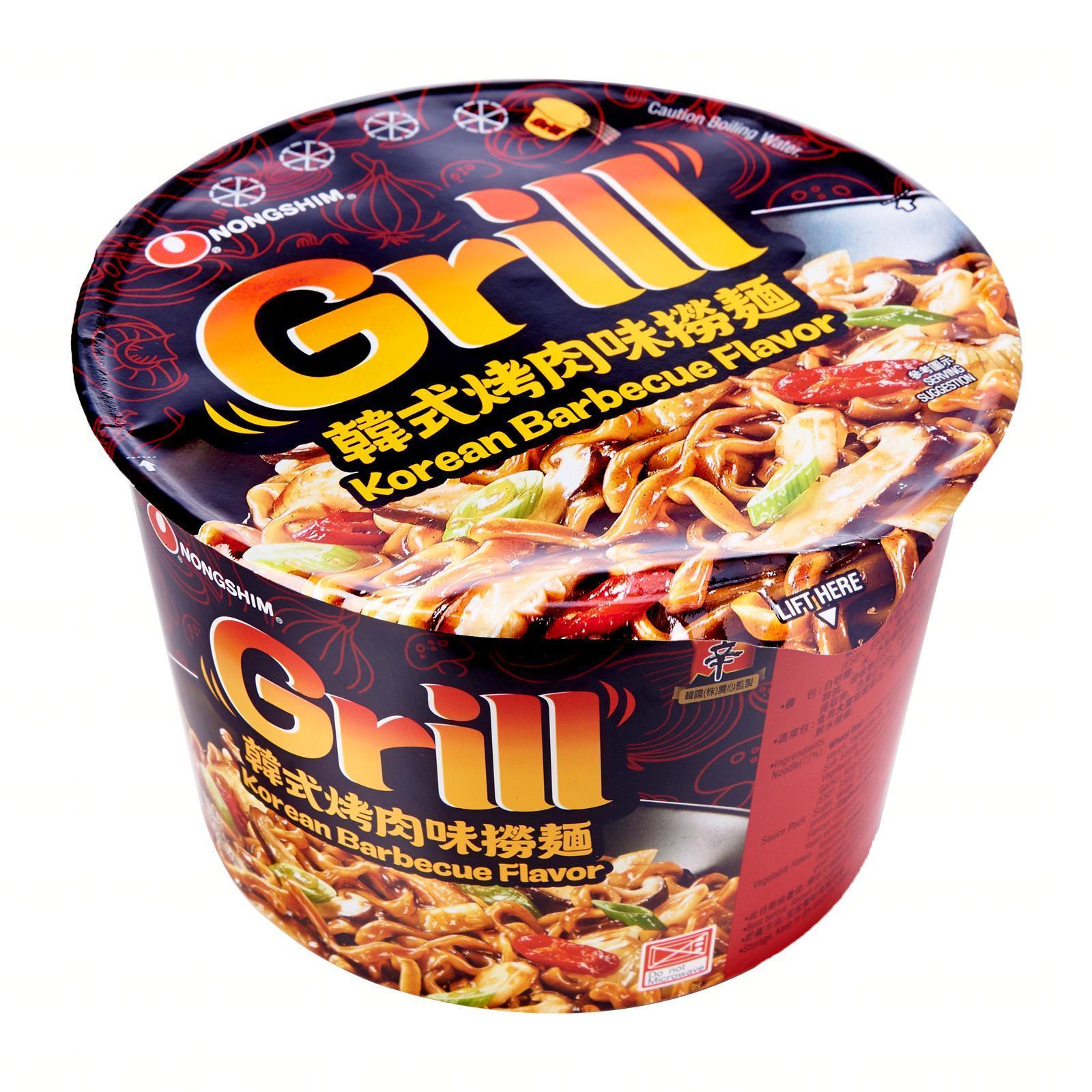 NONG SHIM Grill Fried Bowl Noodle - Korean BBQ 98g