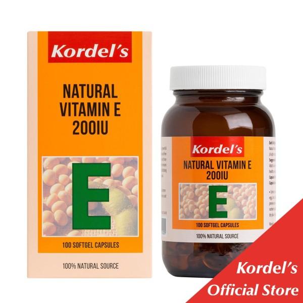 Buy Kordel's Natural Vitamin E 200IU 100s Singapore