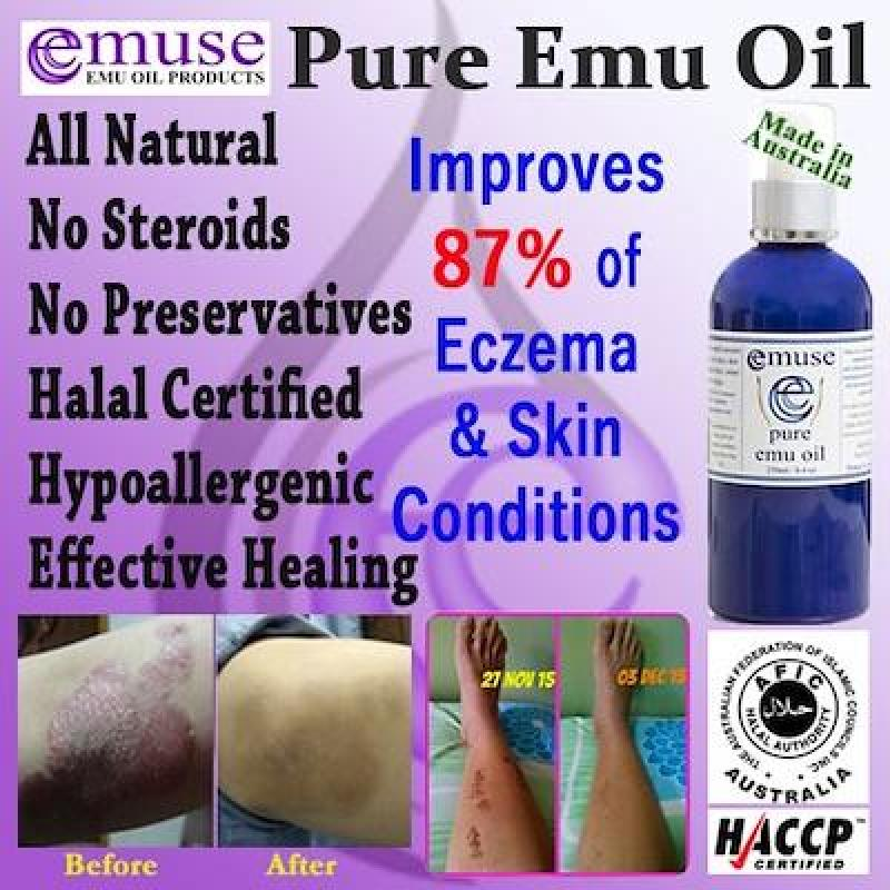 Buy Australia Emuse 100% Pure Emu Oil 50ml / HACCP and Halal Certified Singapore