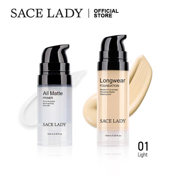 Buy SACE LADY Face Primer Makeup Set Liquid Foundation Cream Waterproof Matte Base Make Up Natural Cosmetic Singapore