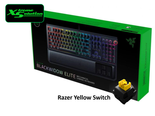 Razer Blackwidow Elite (Razer Green/Orange/Yellow Switches) Singapore