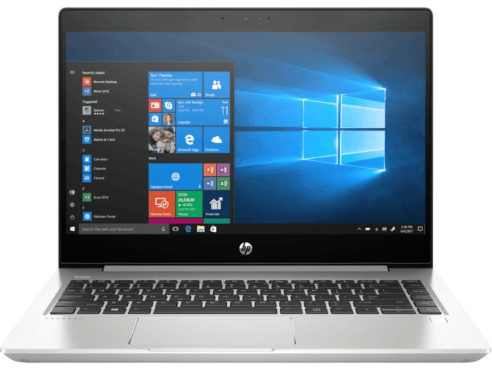 HP ProBook 440 G6 Notebook PC (6BT80PC) -  Intel® Core™ i5-8265U / Windows 10 Pro 64 / 4 GB DDR4 / 1 TB SATA / NVIDIA® GeForce® MX130