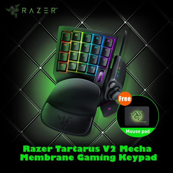 Razer Tartarus V2 Chroma Mecha Gaming Keypad 32 Keys Membrane Wired Keyboard Fully Programmable Backlight Mechanical Keys Singapore