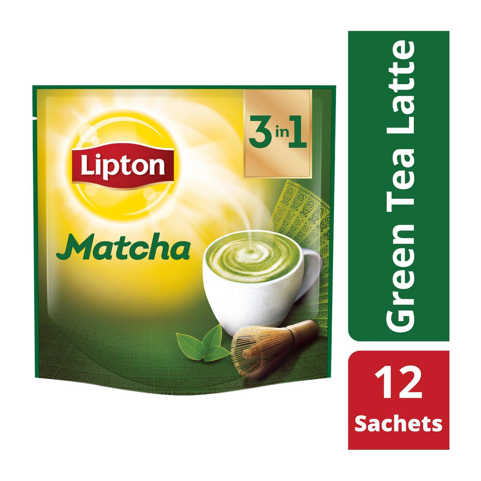 Lipton 3-In-1 Matcha Green Tea Latte