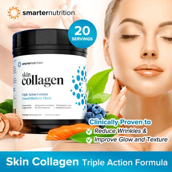 Buy Collagen from Smarter Nutrition, local seller, ready stocks Singapore