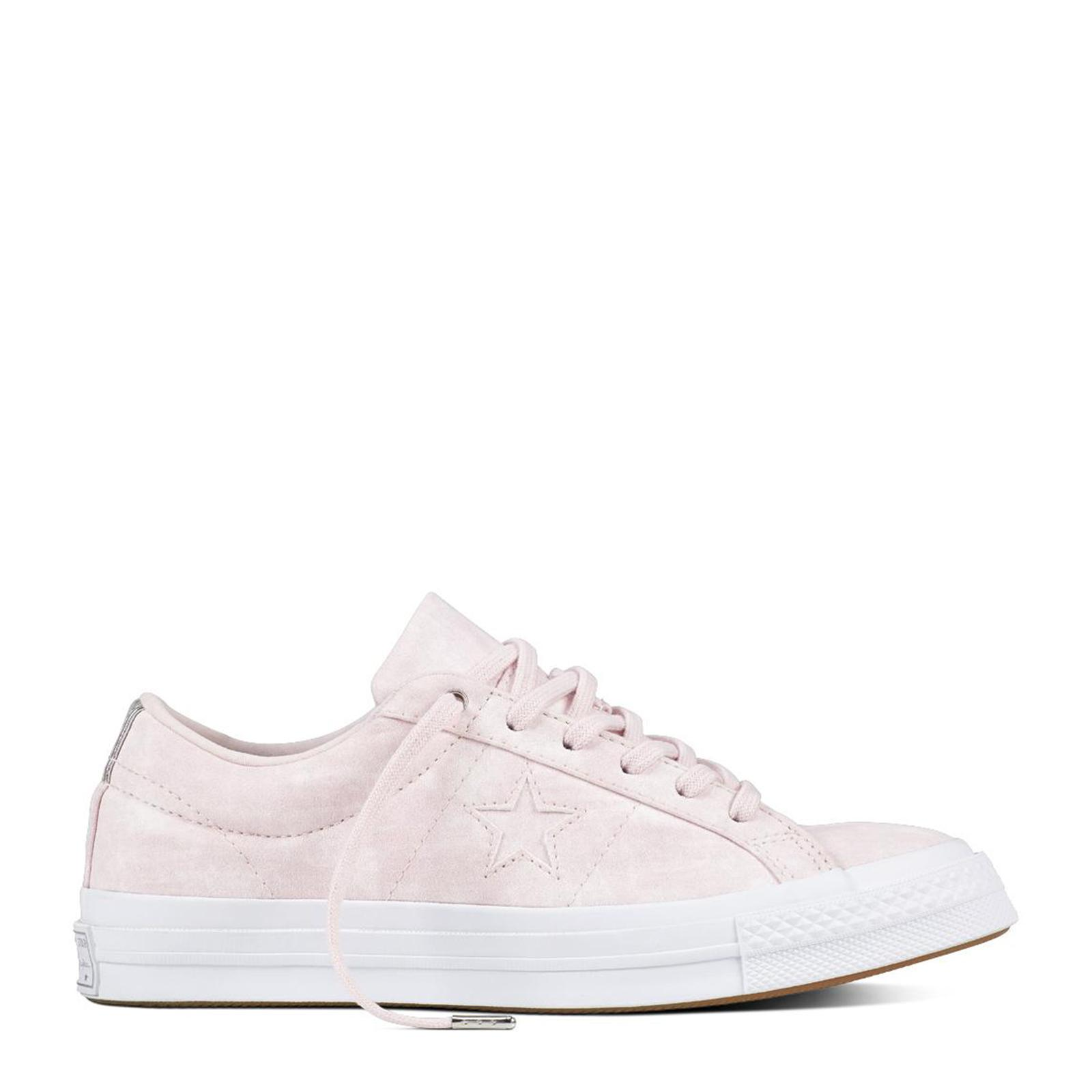 bcfc09039efdb6  SALE  CONVERSE ONE STAR - OX - BARELY ROSE BARELY ROSE WHITE