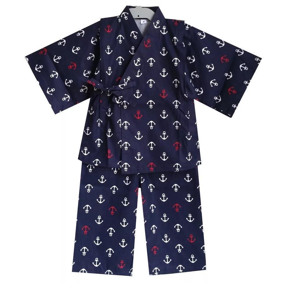 Okiddo Long Sleeve Anchor Boy Suit-Blue By Okiddo.