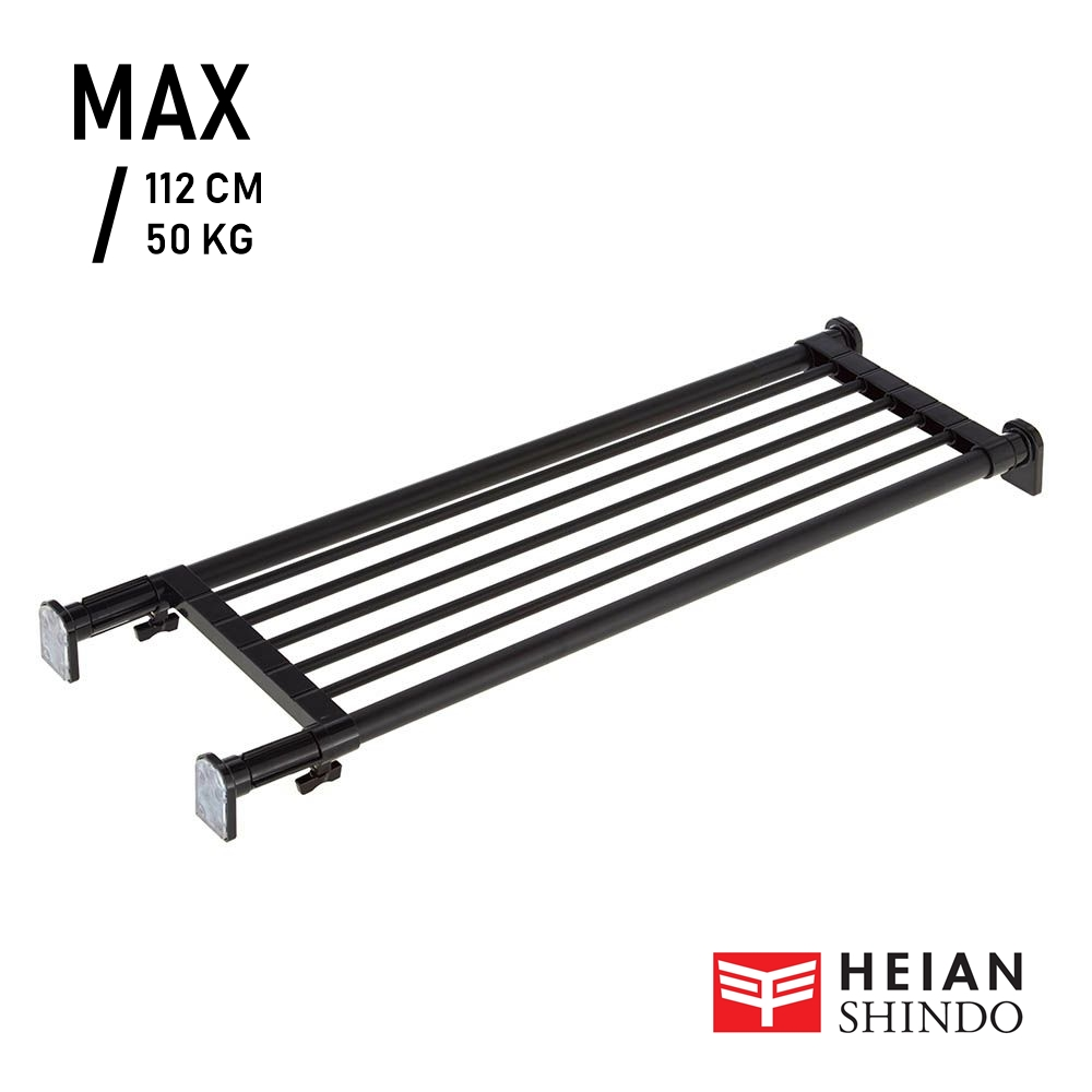 HEIAN SHINDO Strong Extension Shelf Black TAI-1B