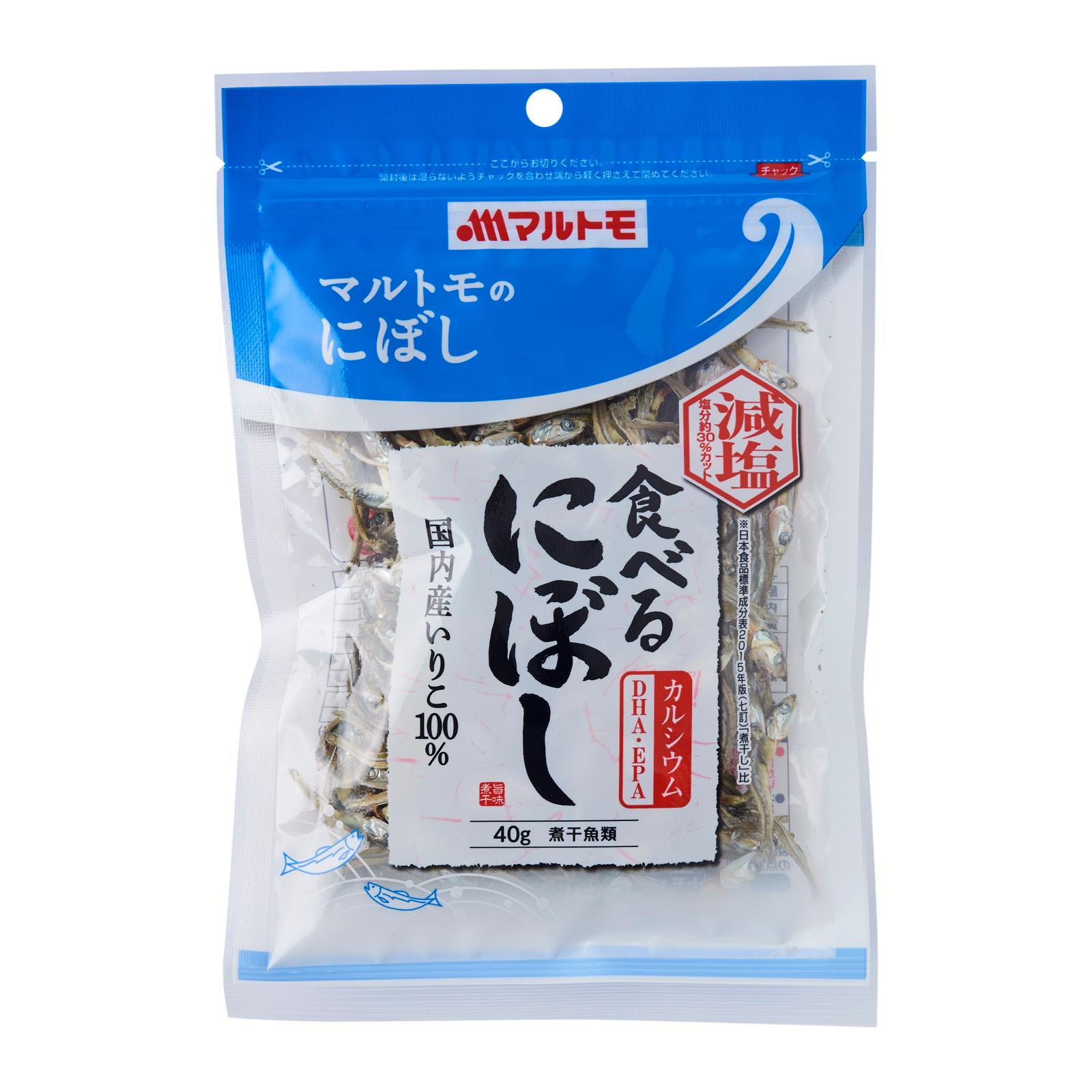 Marutomo Dried Anchovy Snack (Less Salt) - By J-Mart Japanese Food Market