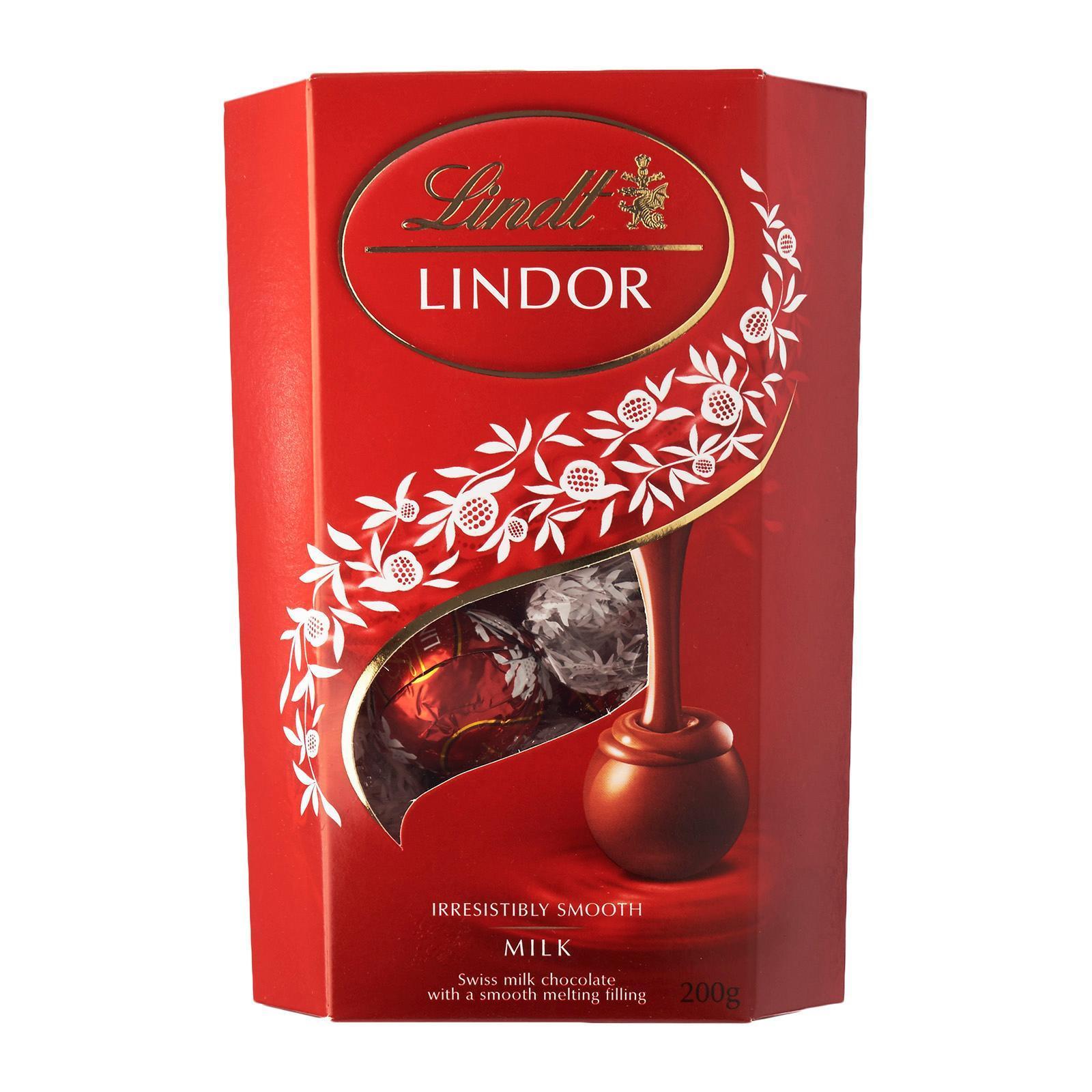 Lindt Lindor Cornet Milk Chocolate