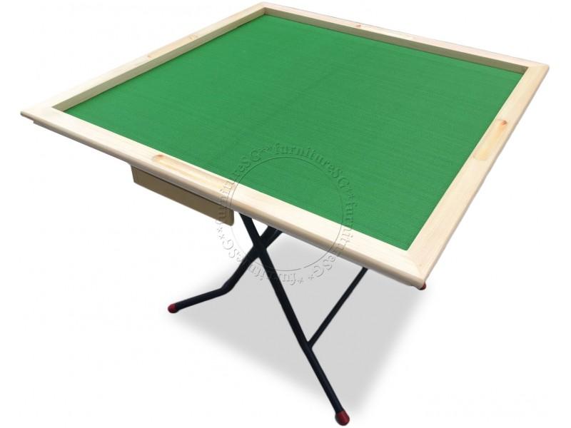 (FurnitureSG) Mahjong Table (Wooden Rim)