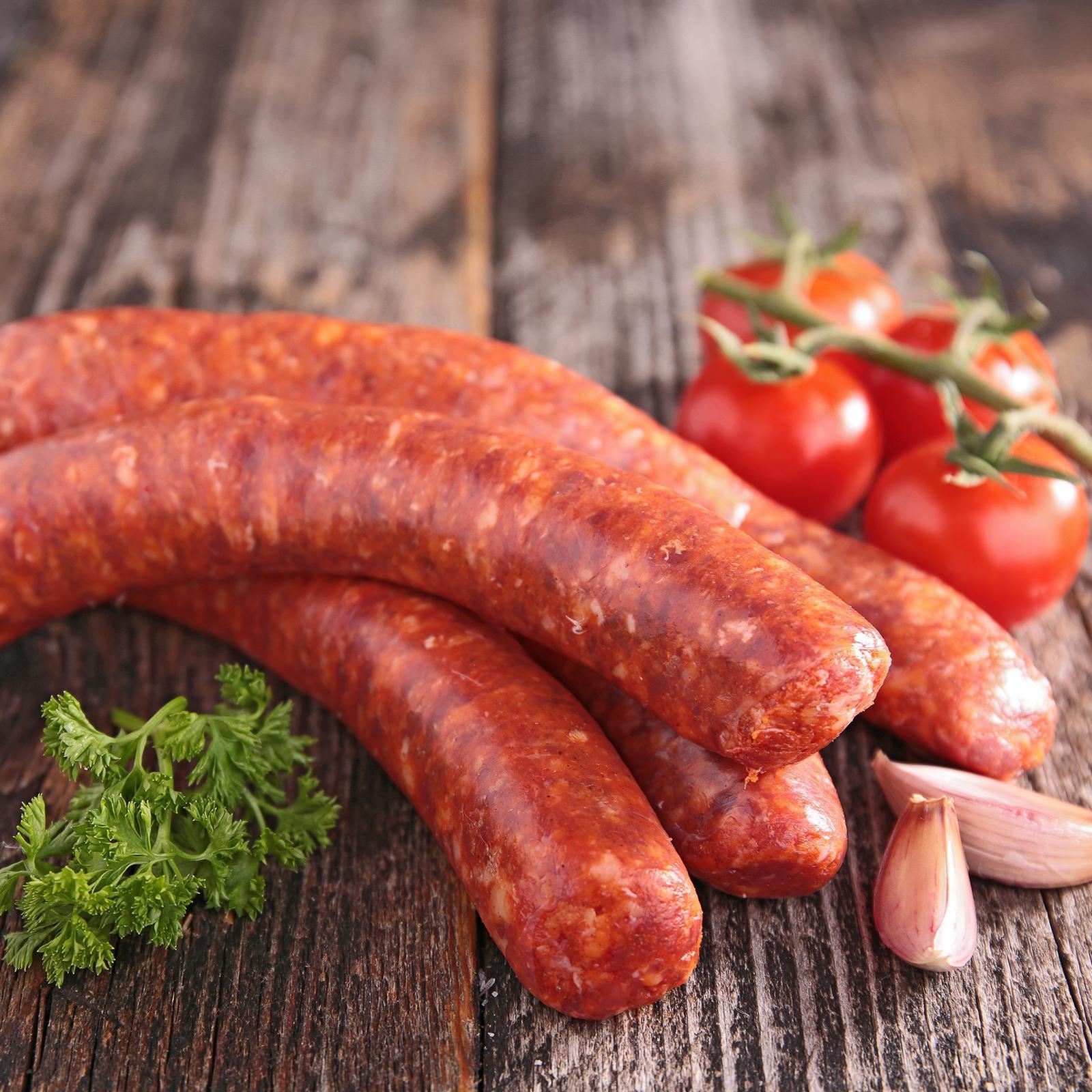Sidecar Spicy Spanish Chorizo Sausages - Frozen