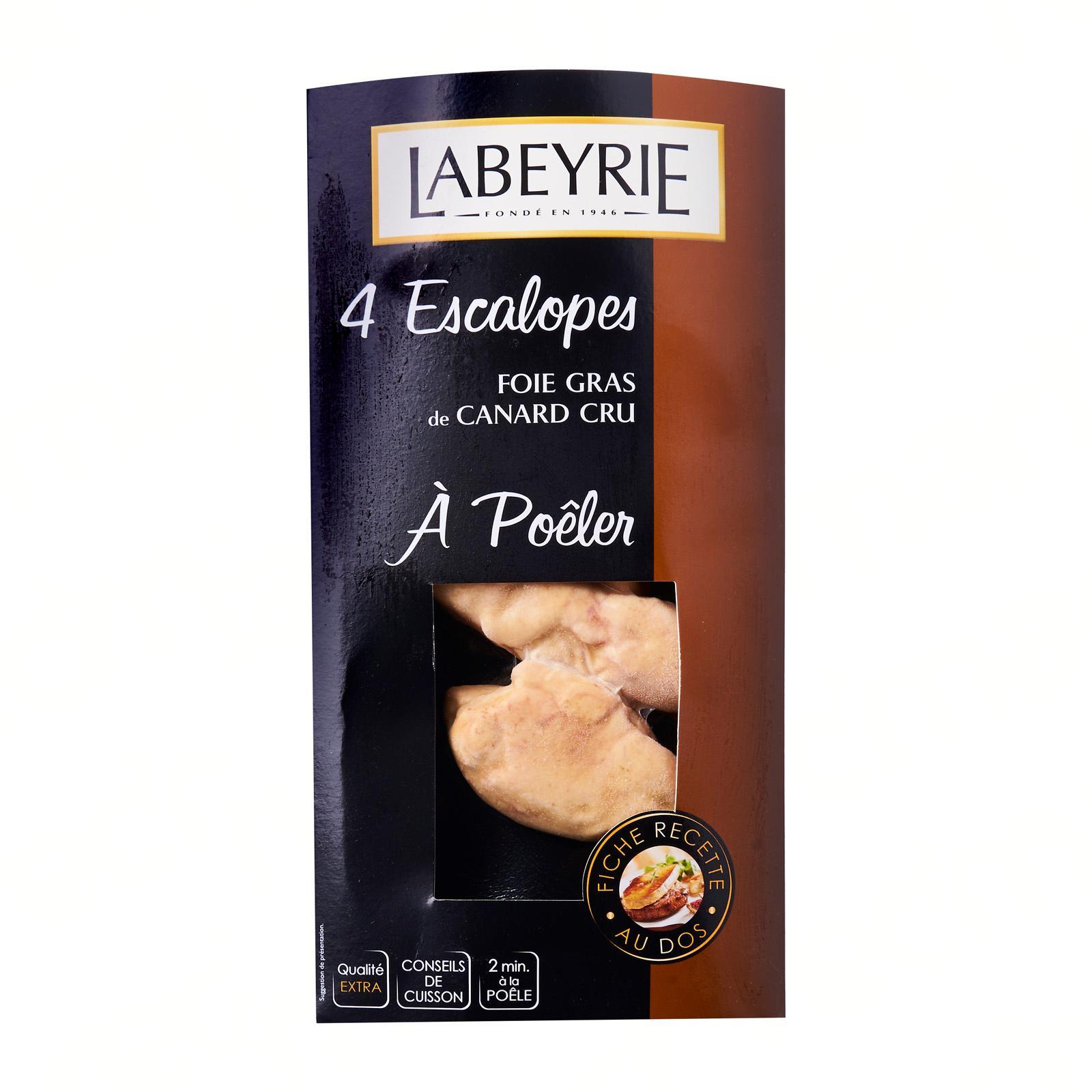 Labeyrie 4 Escalopes For Pan Fry