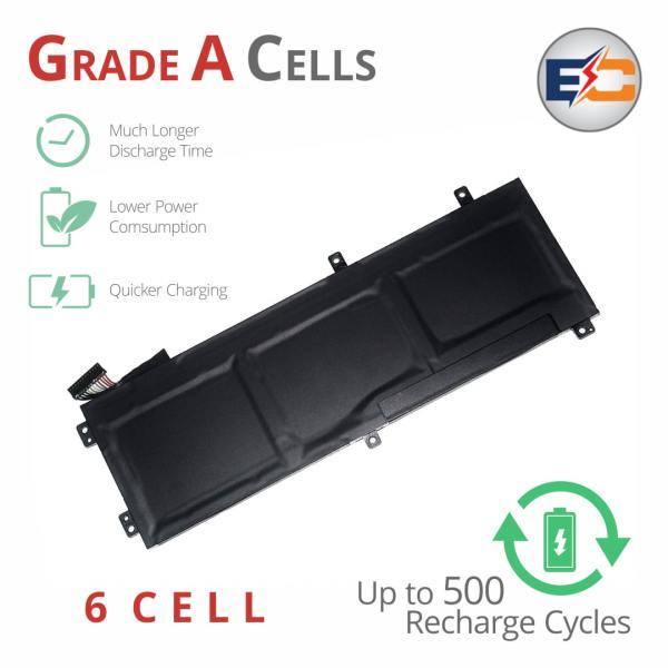 Replacement Laptop Grade A Cells Battery for XPS 15 9550 5510  5520, M5520, 5XJ28, 9560, M5530, 4GVGH, 05041C, 5D91C