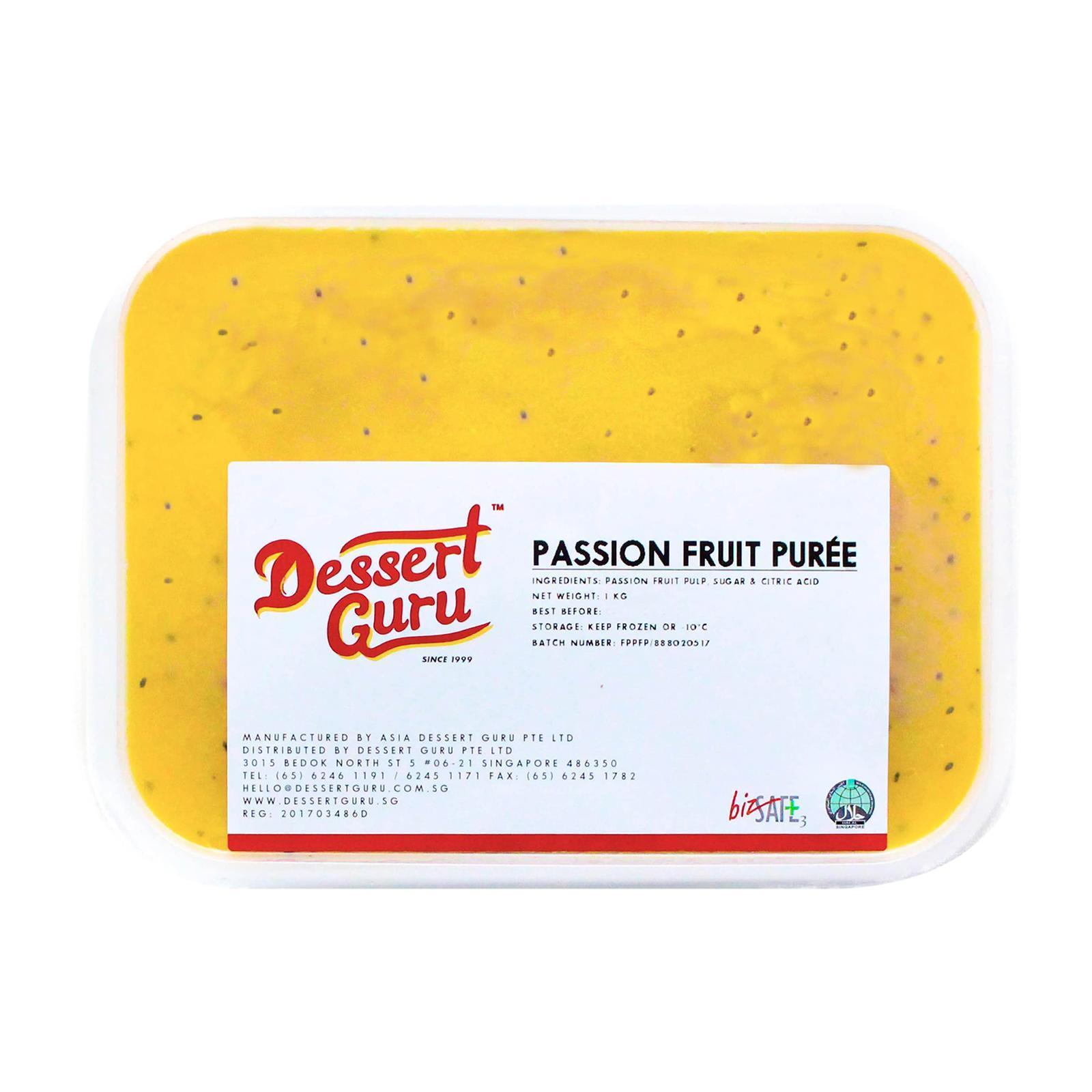 Dessert Guru Passion Fruit Puree - Frozen By Redmart.