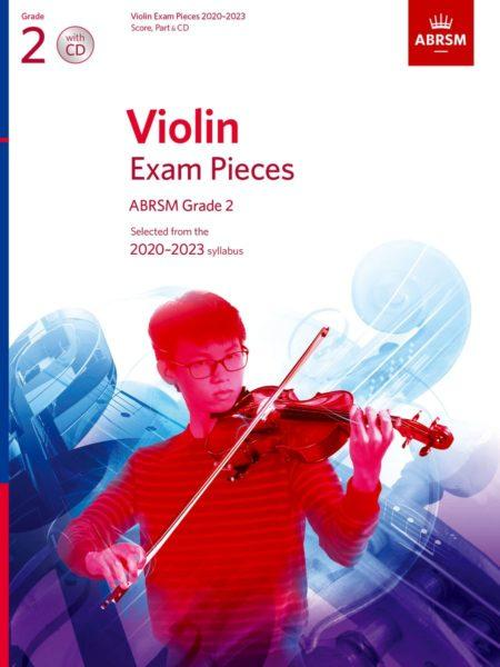 VIOLIN EXAM PIECES 2020-2023 G2 W/CD