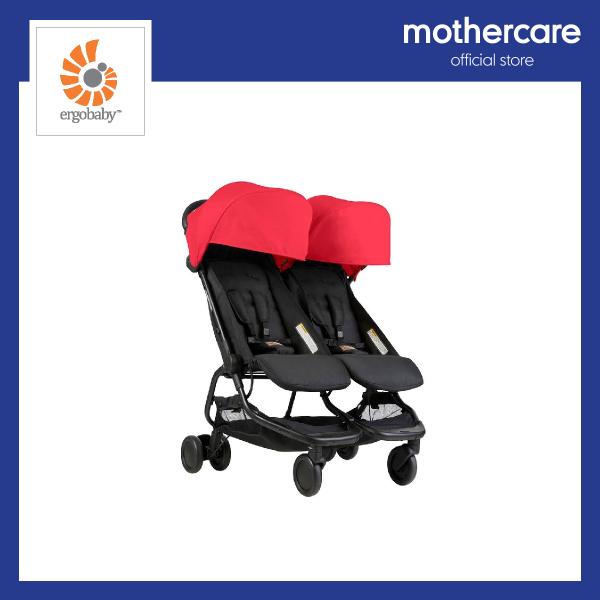 Mountain Buggy Nano Duo Buggy - Red Singapore