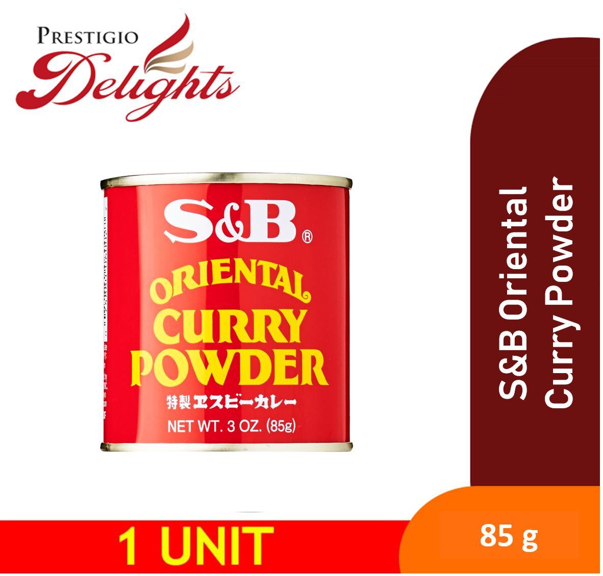 S&b Oriental Curry Powder 85g By Prestigio Delights.