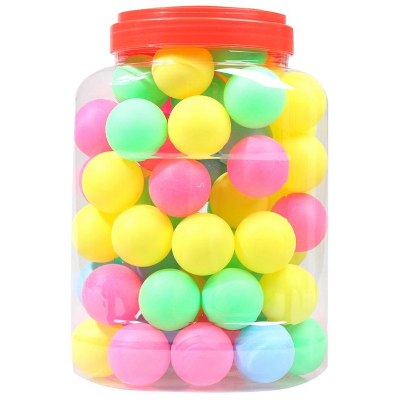 Bảng giá Fine Quality Ping Pong Balls Assorted Wordless Table Tennis Plastic Ball Bulk Colorful Plastic Seamless Ping Pong Ball