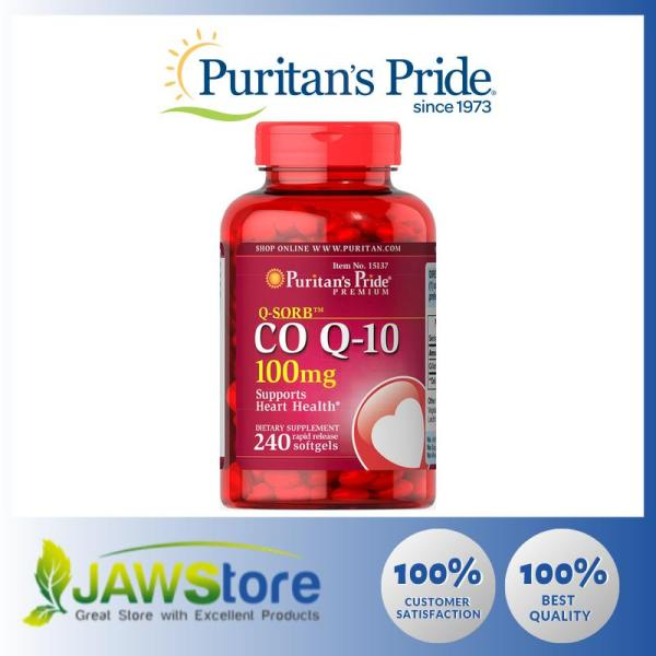 Buy Puritans Pride Q-SORB™ Co Q-10 100 mg / 240 Softgels / Item #015137 Singapore