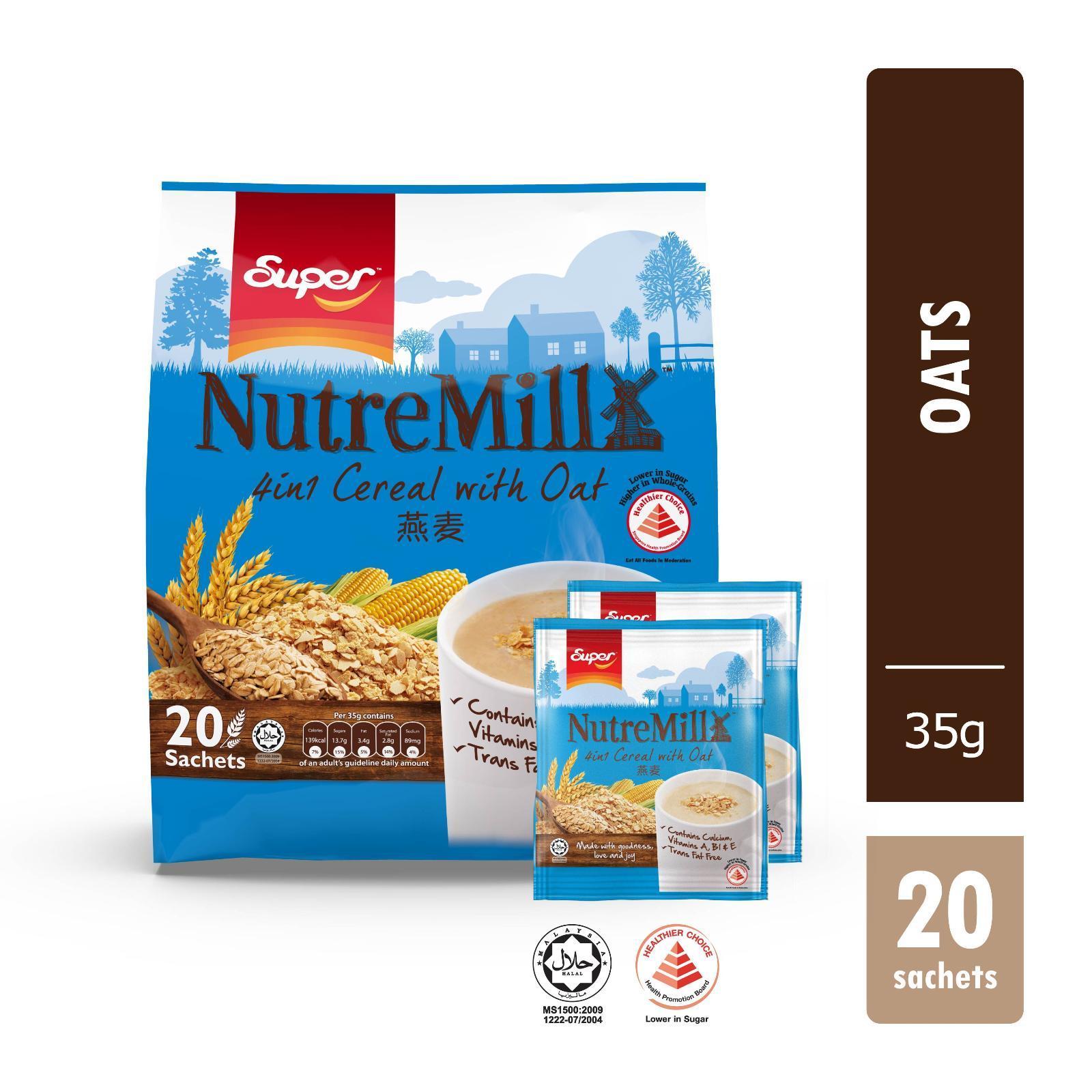 Super Cereal Oat 4-in-1 Cereal Drink