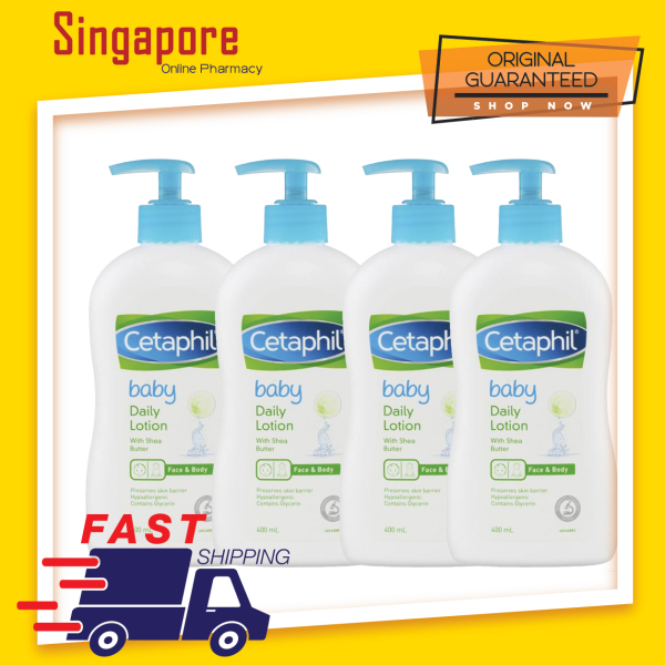 Buy Cetaphil Baby Daily Lotion - With Shea Butter 400ml (Expiry: 03/23) Singapore