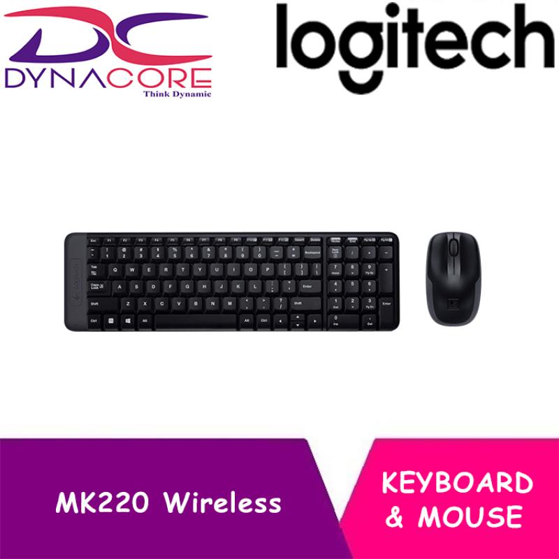DYNACORE - Logitech MK220 Wireless Keyboard and Mouse Combo Singapore