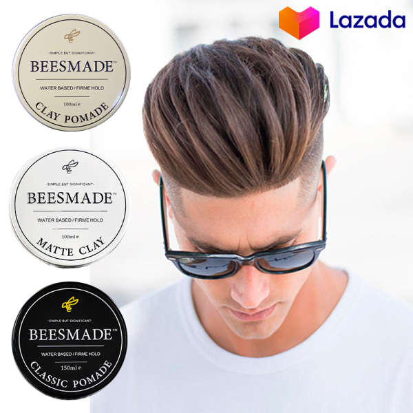 Buy Pomade Hair Clay 100ml [BEESMADE] Singapore