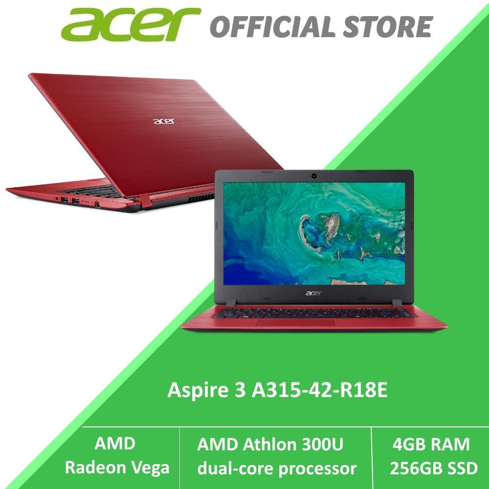Acer Aspire 3 A315-42-R18E NEW laptop with AMD Athlon 300U Processor and AMD Radeon Vega Graphic
