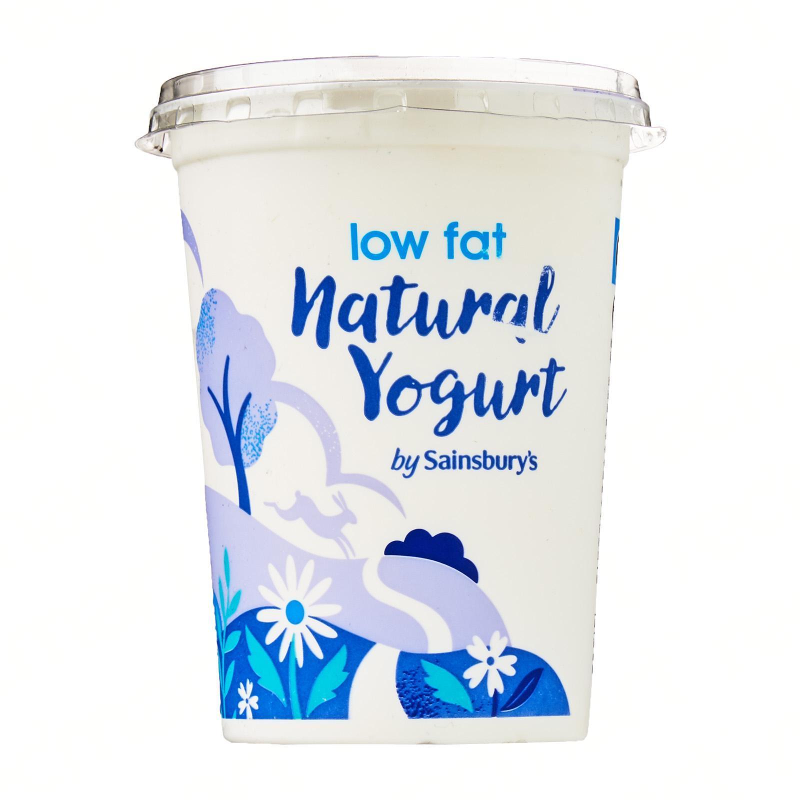 Sainsbury's Low Fat Natural Yoghurt
