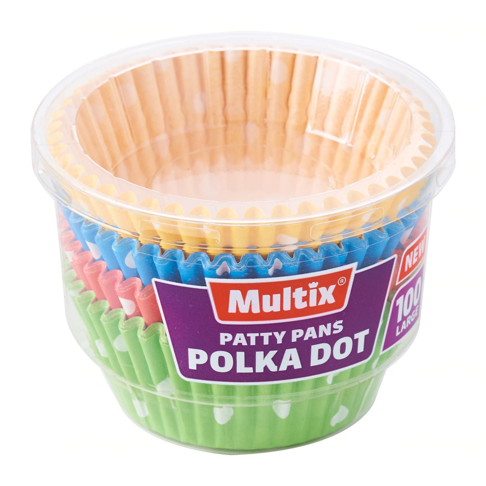 Multix Patty Pan Polka Dot