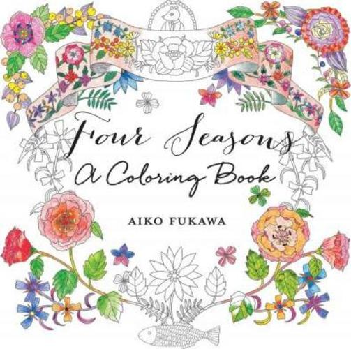 Four Seasons : A Coloring Book