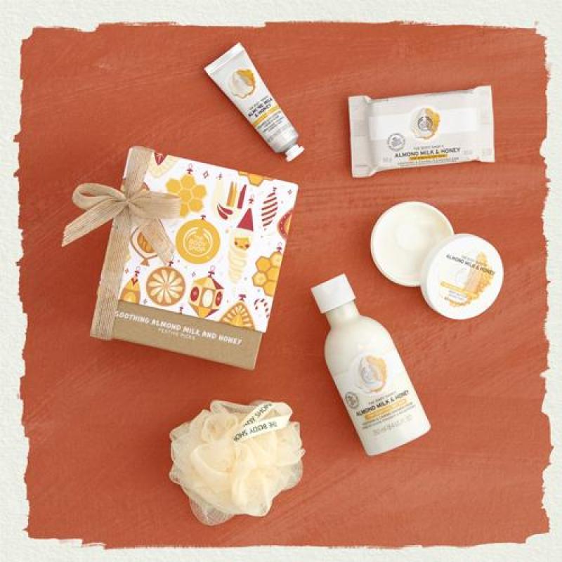 Buy The Body Shop Soothing Almond Milk & Honey Festive Picks Singapore