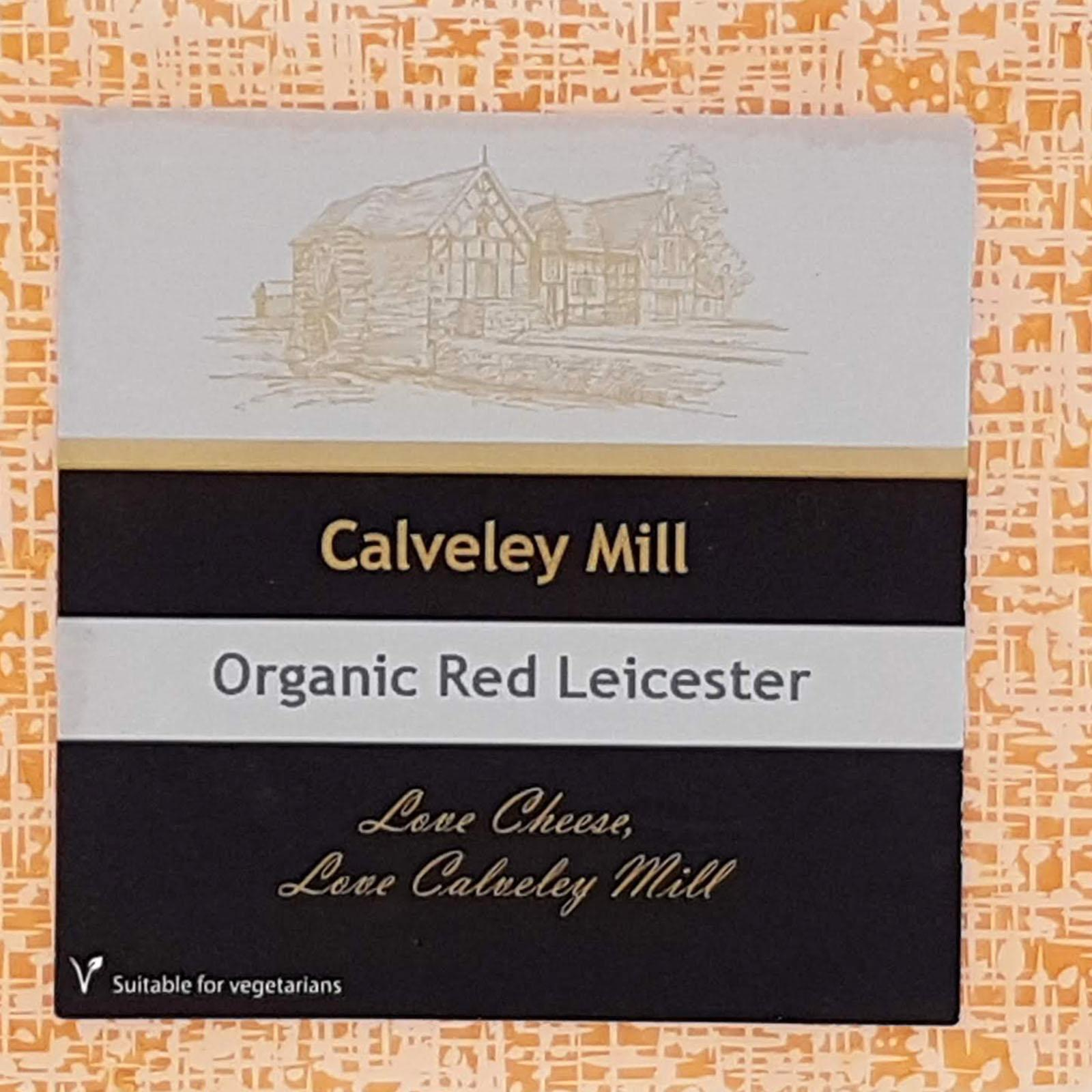 Calveley Mill Organic Red Leicester Cheese