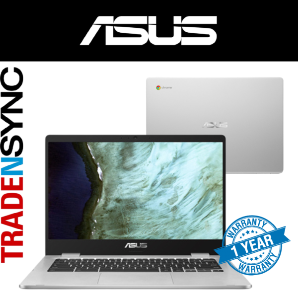 ( Ready Stock ) ASUS ChromeBook | C423NA-BZ0311 | intel Pentium N4200 | 4GB RAM | 64GB EMMC HARD DISK | WI-FI 5 | 14INCH Touch Screen | 1YR Warranty